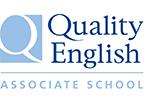QE logo
